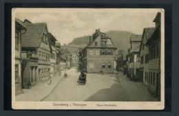 Sonneberg Thuringen Obere Marktstrase Sonneberg Thuringe Rue Commerçante Supérieure - Germania