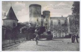 CPA  ORADOUR-SUR-VAYRES - Chateau De CROMIERES (Cachet Service Postale.16éme Chasseurs à Pied. Dépot Commun) - Oradour Sur Vayres