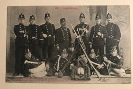 NEW - LUXEMBOURG - Compagnie Volontaires Armée Soldats Freiwilligen Kompagnie Ww1 Troupe 1907 Gendarme Frontière - Luxemburg - Town