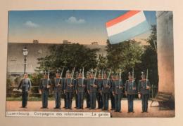 NEW - LUXEMBOURG - Compagnie Volontaires Armée Soldats Freiwilligen Kompagnie Ww1 Troupe 1900 Gendarme Frontière Houstre - Luxemburg - Town