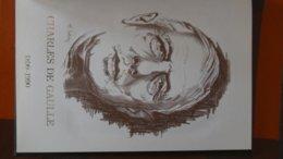 Superbe Hommage Au Générale De Gaulle Dont 1 Enveloppe 1er Jour Inédite !!! - Francobolli