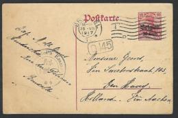 1917 Brussel  Vers Den Haag  Dr Geens  ( Klass Heuroud ) - WW I