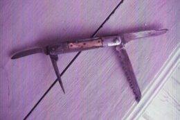 Ancien Couteau Multilames - THIERS - Estampille à La Hache Copéré Dumas 532  - Manche Corne - Armi Bianche