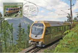Austria 2019 - Mariazell Railway – Himmelstreppe Maximum Card - 1945-.... 2ª República