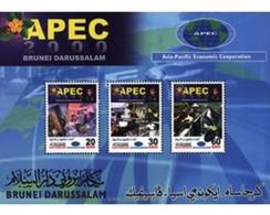 Ref. 81752 * MNH * - BRUNEI. 2000. ASIA PACIFIC ECONOMIC COOPERATION . COOPERACION ECONOMICA ASIA PACIFIC - Brunei (1984-...)