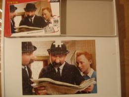 PUZZLE 100 Pieces TINTIN En Fait 104 MAIS MANQUE UNE Donc 103 ET TRIEUR Voir Photo - Puzzles