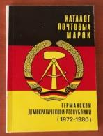 DDR Stamp Catalogue 1972 - 1980 - Deutschland