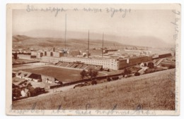 1926 YUGOSLAVIA, BOSNIA, SARAJEVO TO BELGRADE, SERBIA, MILITARY BARRACKS, ILLUSTRATED POSTCARD, USED - Bosnia And Herzegovina