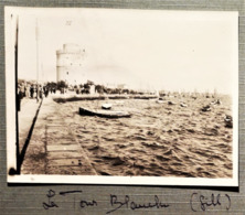 Phse03 Photo Salonique 1917 La Tour Blanche Promenade Aimé Des Soldats Et Infirmières Par Gill 11 X 8,5 Cm - 1914-18
