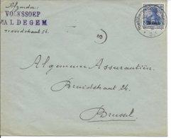 Envelop Van Volkssoep Maldegem Naar Brussel - [OC26/37] Staging Zone