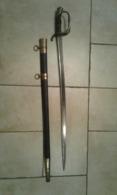 Jolie Sabre Français 1841, Sous Officier, Première Guerre, No Casque - Knives/Swords