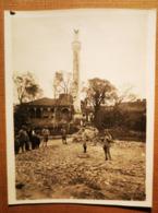 Phse06 Photo Salonique 1917 Officier Devant Minaret (sh Gill)  11 X 8,5 Cm - 1914-18