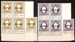 [811165]TB//**/Mnh-Madeire 1980 - N° 67/68, 1ers Timbres Du Portugal, SC + BD4 Cdf, Timbres Sur Timbres - Briefmarken Auf Briefmarken