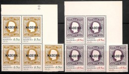 [811166]TB//**/Mnh-Madeire 1980 - N° 67/68, 1ers Timbres Du Portugal, SC + BD4 Cdf, Timbres Sur Timbres - Briefmarken Auf Briefmarken
