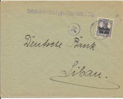 Postgebiet Ob.Ost, Brief Van Mitau Naar Libau - WW I