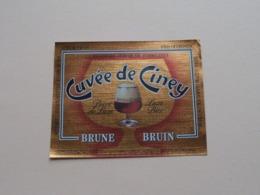 Cuvée De CINEY Brune / Bruin - Brasserie DEMARCHE ( Zie / Voir / See / Zie Foto ) ! - Bière