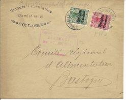 Envelop Van Strainchamps (Hollange) Naar Bastogne - WW I