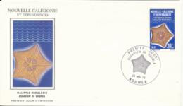 New Caledonia FDC 28-10-1978 Noumea Acquarium With Cachet - FDC