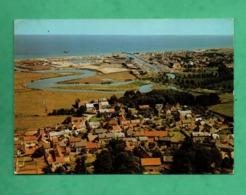 14 Calvados Graye Sur Mer   Vue Aerienne Sur Le Bourg Au Fond Courseulles Sur Mer - Autres Communes