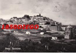 OSTUNI - PANORAMA F/GRANDE VIAGGIATA 1957 - Brindisi