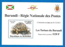 Burundi 2011 Mint Block MNH (**) - Burundi