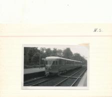 Tram Tramway Vicinal   Buurtspoorweg Foto 9 X 6 CM DRIEBERGEN   1953 - Driebergen – Rijsenburg
