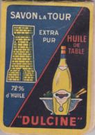 Petit Carnet Publicitaire - Bloc-notes - Savon La Tour - Huile De Table Dulcine - Végétaline - Reclame
