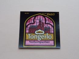Abdij TONGERLO Norbertijnerbier 33 Cl - Brasserie St. GUIBERT ( Zie / Voir / See / Zie Foto ) B 78 Mm. / H. 74 Mm.! - Bière