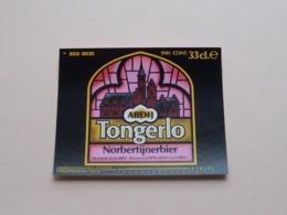 Abdij TONGERLO Norbertijnerbier 33 Cl - Brasserie St. GUIBERT ( Zie / Voir / See / Zie Foto ) B 90 Mm. / H. 70 Mm.! - Bière