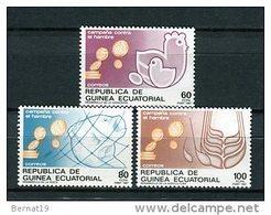 Guinea Ecuatorial 1987. Edifil 89-91 ** MNH - Guinea Ecuatorial