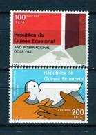 Guinea Ecuatorial 1987. Edifil 92-93 ** MNH. - Guinea Ecuatorial