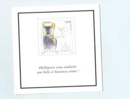 Philaposte - Voeux 2019 - Métiers D'Art - Tirage Limité Réservé Aux Membres Club Phil@poste - Documents De La Poste