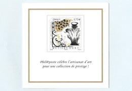 Philaposte - Voeux 2018 - Métiers D'Art - Tirage Limité Réservé Aux Membres Club Phil@poste - Documents Of Postal Services
