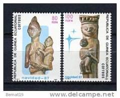 Guinea Ecuatorial 1987. Edifil 96-97 ** MNH. - Guinea Ecuatorial