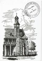 LCTN58/2 - GROUPEMENT PHIL. MONTLUCONNAIS - POST OFFICE DU FAR-WEST - PHOTO NON CONTRACTUELLE (OBL. ET TEXTE AU VERSO) - Briefmarkenausstellungen