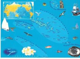 Carte Souvenir    Des 118 Iles Polynesies - Frans-Polynesië