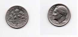 Dime – Etats Unis – 1986 P – Roosevelt – Cupro Nickel – Etat TTB – KM 195a - 1946-...: Roosevelt