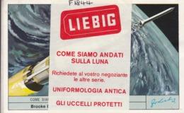 Chromos Liebig Italie : Lot De 6  : Come Siamo Ndati Sulla Luna    ///  REF  OCT. 19 ///  N° 9496 - Liebig