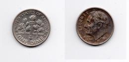 Dime – Etats Unis – 1986 P – Roosevelt – Cupro Nickel – Etat TB – KM 195a - 1946-...: Roosevelt