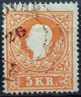AUSTRIA 1858 - Canceled - ANK 13I - 5kr - Usati