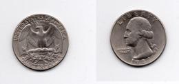Quarter – Etats Unis – 1987 P – Washington – Nickel – Etat TTB – KM A164a - Emissioni Federali