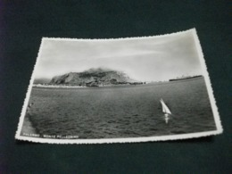 NAVE SHIP PIROSCAFO MONTE PELLEGRINO PALERMO  VELA - Dampfer
