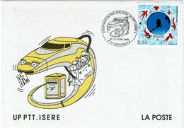LCTN58/2 - UP PTT ISERE AVRIL 1991 - Philatelic Exhibitions