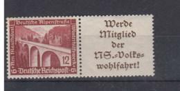 Reich Michel Kat.Nr. ZD  Postfr/** W113 - Se-Tenant