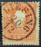 AUSTRIA 1858 - Canceled - ANK 13II - 5kr - Gebraucht