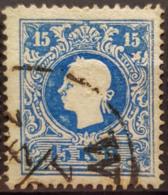AUSTRIA 1858 - Canceled - ANK 15II - 15kr - Gebraucht