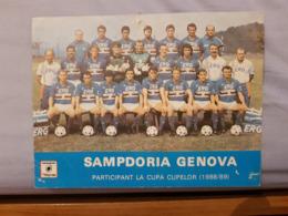 Sampdoria Postcard - Fussball