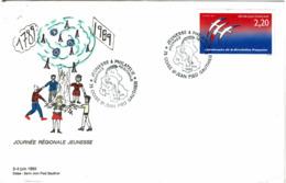 LCTN58/2 - JEUNESSE ET PHILATELIE COISE - ST JEAN JUIN 1989 - Briefmarkenausstellungen