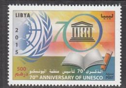 2014 Libya Libia UNESCO  Complete Set Of 1 MNH - Libye