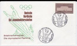 Germany Cover Posted Schonach Im Schwarzwald 1971 Deutsche Nordische Ski-Jugendmeisterschaften - Wintersport (Sonstige)